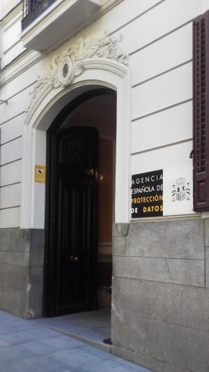 Agencia Española de Protección de Datos.  Fuente propia